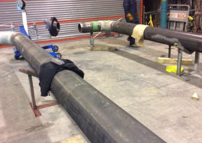 "Fitting a 12"" class 600# flange"