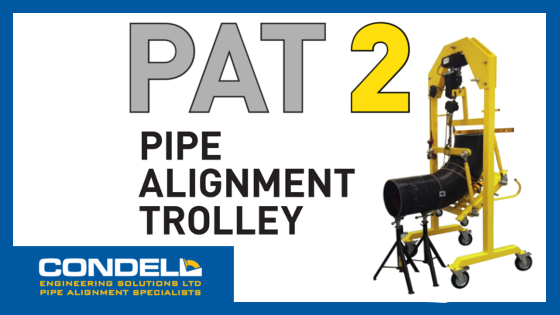 Pipe Alignment Trolley PAT 2 is launched