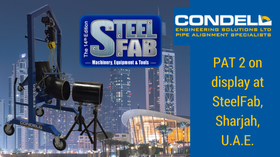 Condell Engineering travel to SteelFab with PAT2