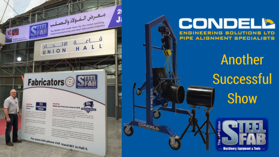 Another Successful Show – SteelFab, Sharjah, U.A.E